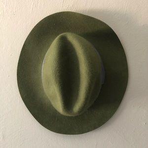 NWT Green Wool Hat
